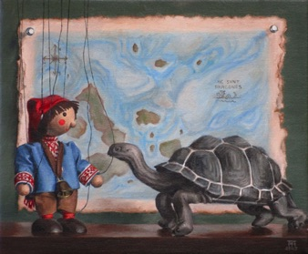 "Sebbie and the Tortoise 2015, 10x12"" Available"